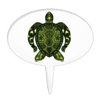 Turtle 2b cake topper