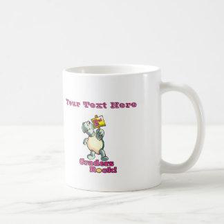 "Turtle ""2nd Graders Rock"" Design Coffee Mug"