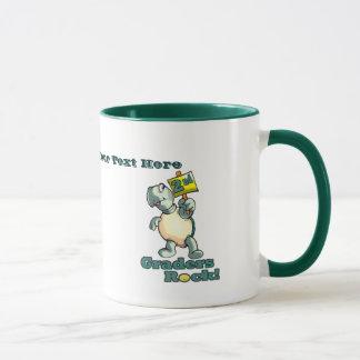 """Turtle """"2nd Graders Rock"""" Design Mug"""