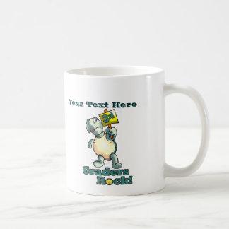 "Turtle ""3rd Graders Rock""  Design Coffee Mug"