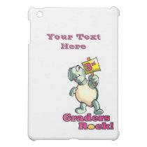 """Turtle """"3rd Graders Rock"""" Design iPad Mini Cover"""