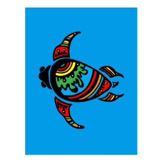 turtle-948263SURFER DUDE TURTLE TRIBAL VECTOR TATT Postcard