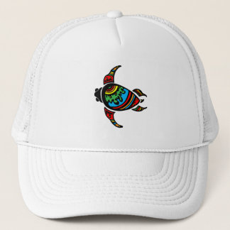 turtle-948263SURFER DUDE TURTLE TRIBAL VECTOR TATT Trucker Hat