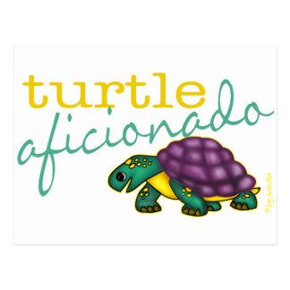 Turtle Aficionado Postcard