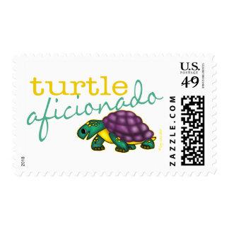 Turtle Aficionado Stamp