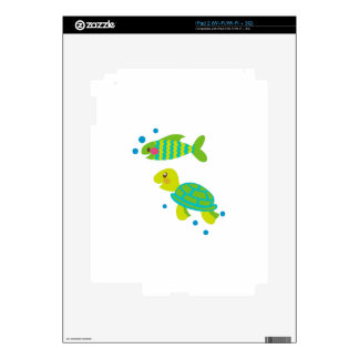 Turtle And Fish Skins For The iPad 2