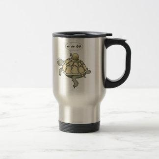 Turtle and snail Go Go Go. Coffee Mug