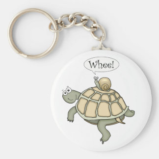 turtle and snail Whee! Keychain