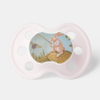 Turtle and the Hare Baby Pacifiers