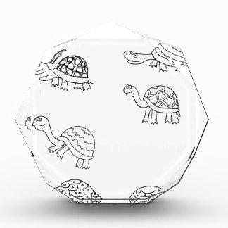turtle animal shell personalize custom award