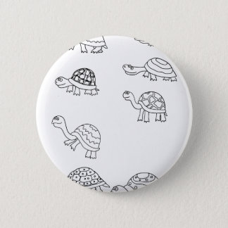 turtle animal shell personalize custom button