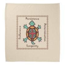 Turtle animal spirit bandana