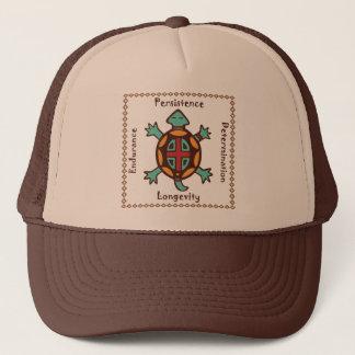 Turtle animal spirit trucker hat