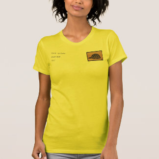 Turtle - Antiquarian, Colorful Book Illustration T-Shirt