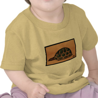 Turtle - Antiquarian Colorful Book Illustration Shirts
