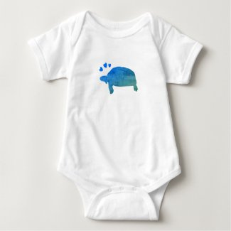 Turtle B Baby Bodysuit