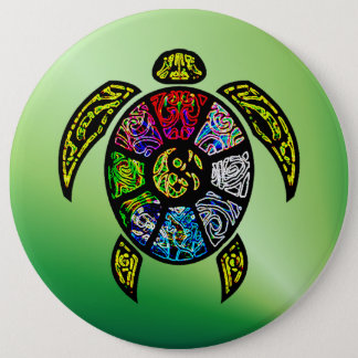 Turtle Ba-Gua Button