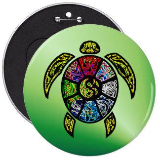 Turtle Ba-Gua Button
