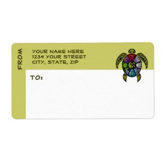 Turtle Ba-Gua Label
