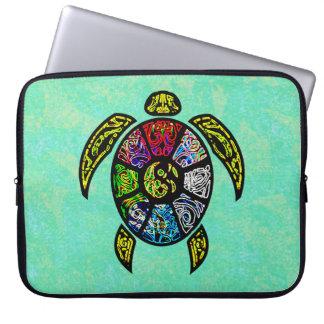 Turtle Ba-Gua Laptop Sleeves