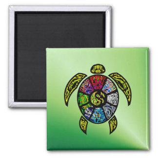 Turtle Ba-Gua Magnet
