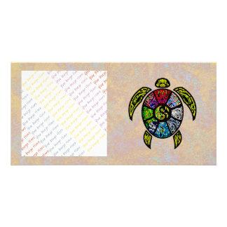 Turtle Ba-Gua Photo Card