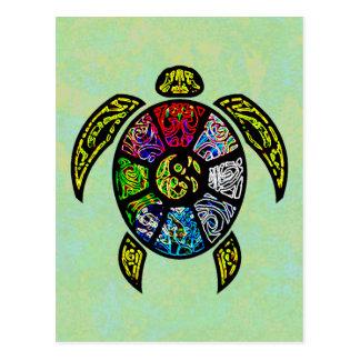 Turtle Ba-Gua Post Card