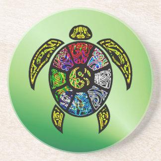 Turtle Ba-Gua Sandstone Coaster