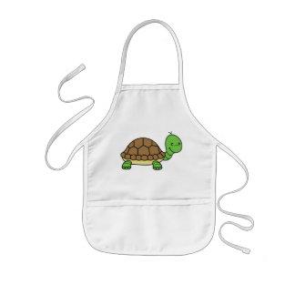 Turtle baby apron