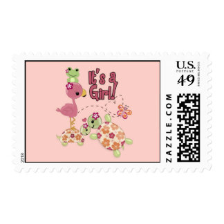 TURTLE Baby Shower Once Upon a Pond Postage OUP