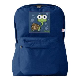 Turtle Backpack, Navy American Apparel™ Backpack