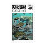Turtle Bay-Sea Turtles Stamp