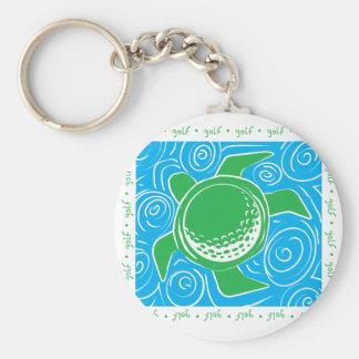 Turtle Beach Golf Keychain