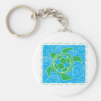 Turtle Beach Soccer Keychain