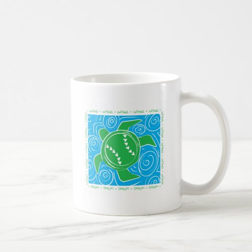 Turtle Beach Softball Coffee Mugs