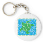 Turtle Beach Softball Keychain