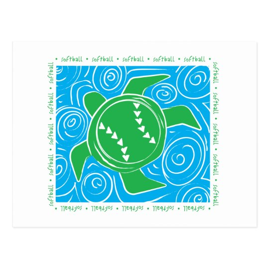 Turtle Beach Softball Postcard