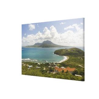 Turtle Beach, southeast peninsula, St Kitts, Canvas Print