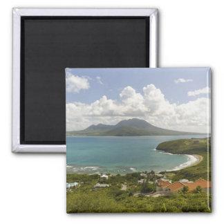 Turtle Beach, southeast peninsula, St Kitts, Refrigerator Magnet