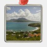 Turtle Beach, southeast peninsula, St Kitts, Metal Ornament