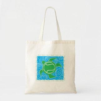 Turtle Beach Tennis Tote Bag