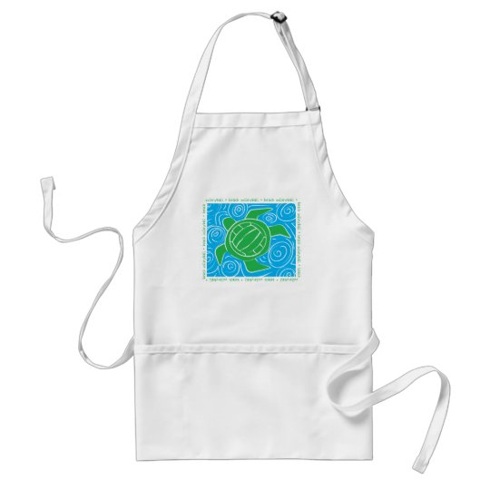 Turtle Beach Volleyball Adult Apron