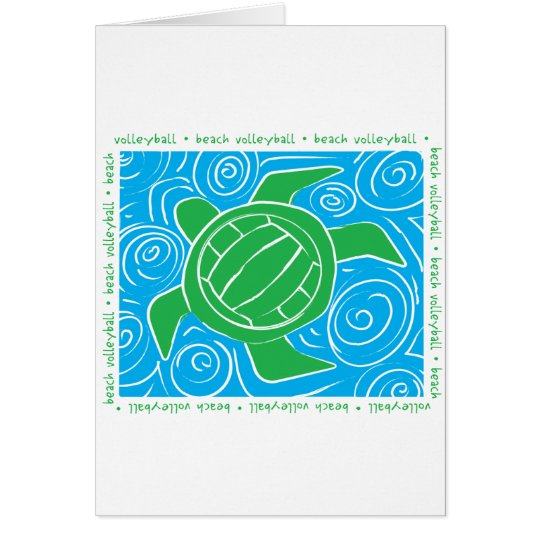 Turtle Beach Volleyball Card