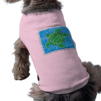 Turtle Beach Volleyball Dog Tshirt