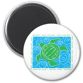 Turtle Beach Volleyball Magnet