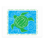 Turtle Beach Volleyball Postcard