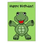 Turtle Birthday Greeting Cards