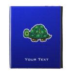 Turtle; Blue iPad Folio Cases