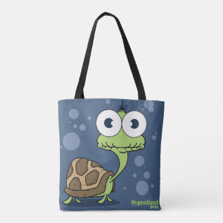 Turtle (Blue) Tote Bag