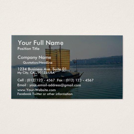 Turtle boat, Yosu Business Card